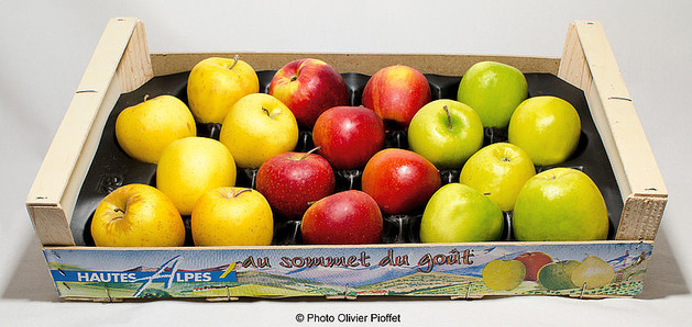 Golden, Royal Gala Granny smith